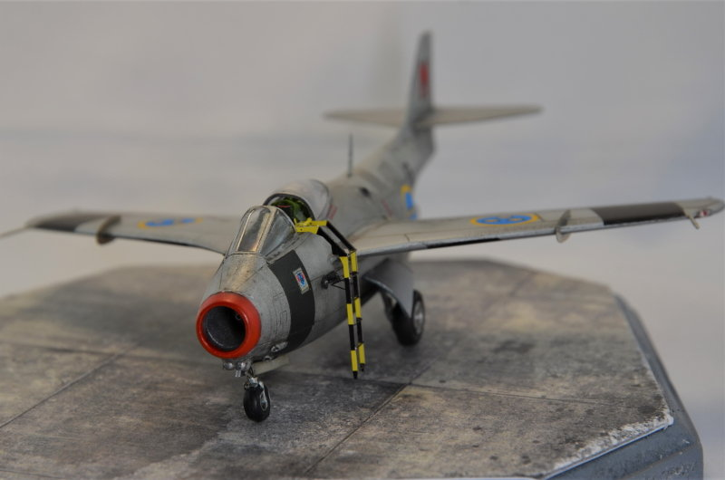 Saab J-29 Tunnan - 1/72 - Tarangus 191224032727470810