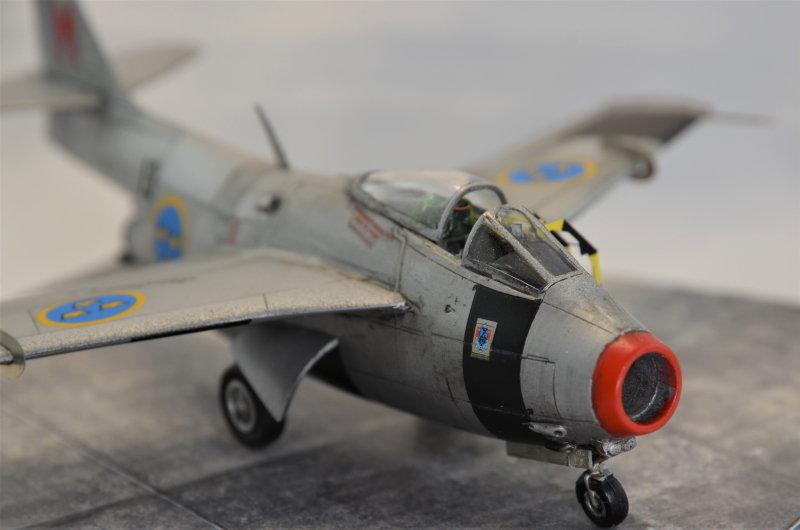 Saab J-29 Tunnan - 1/72 - Tarangus 191224032727726833