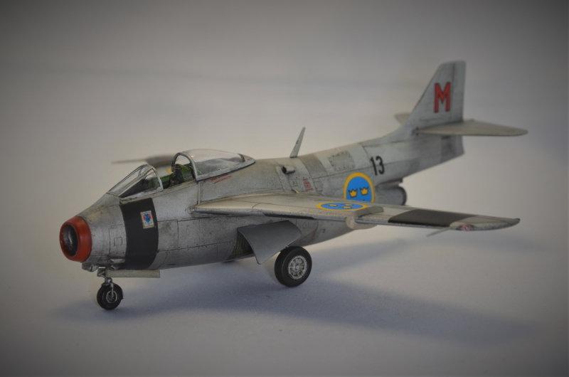 Saab J-29 Tunnan - 1/72 - Tarangus 191224033326767377