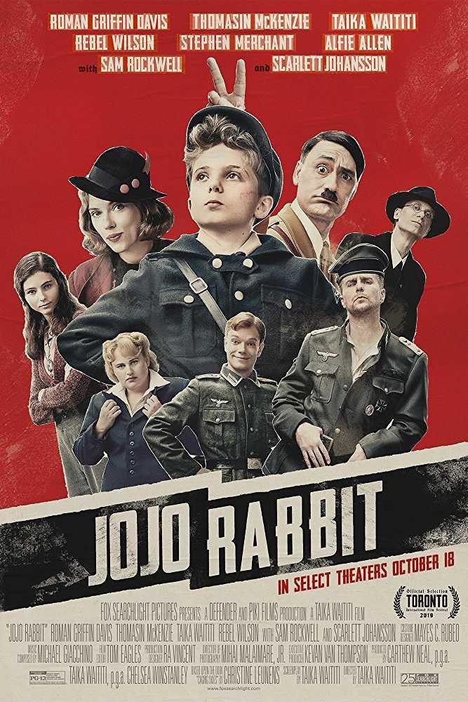 Jojo Rabbit (2019) poster image