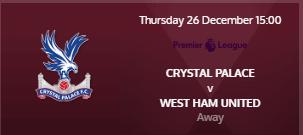 Angleterre - Barclays Premier League 2019 / 2020 191226050351330330