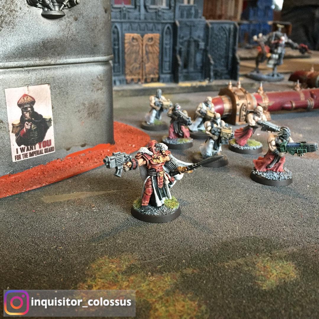 Warhammer 40K Métal soeur de bataille Sac à dos Lot T