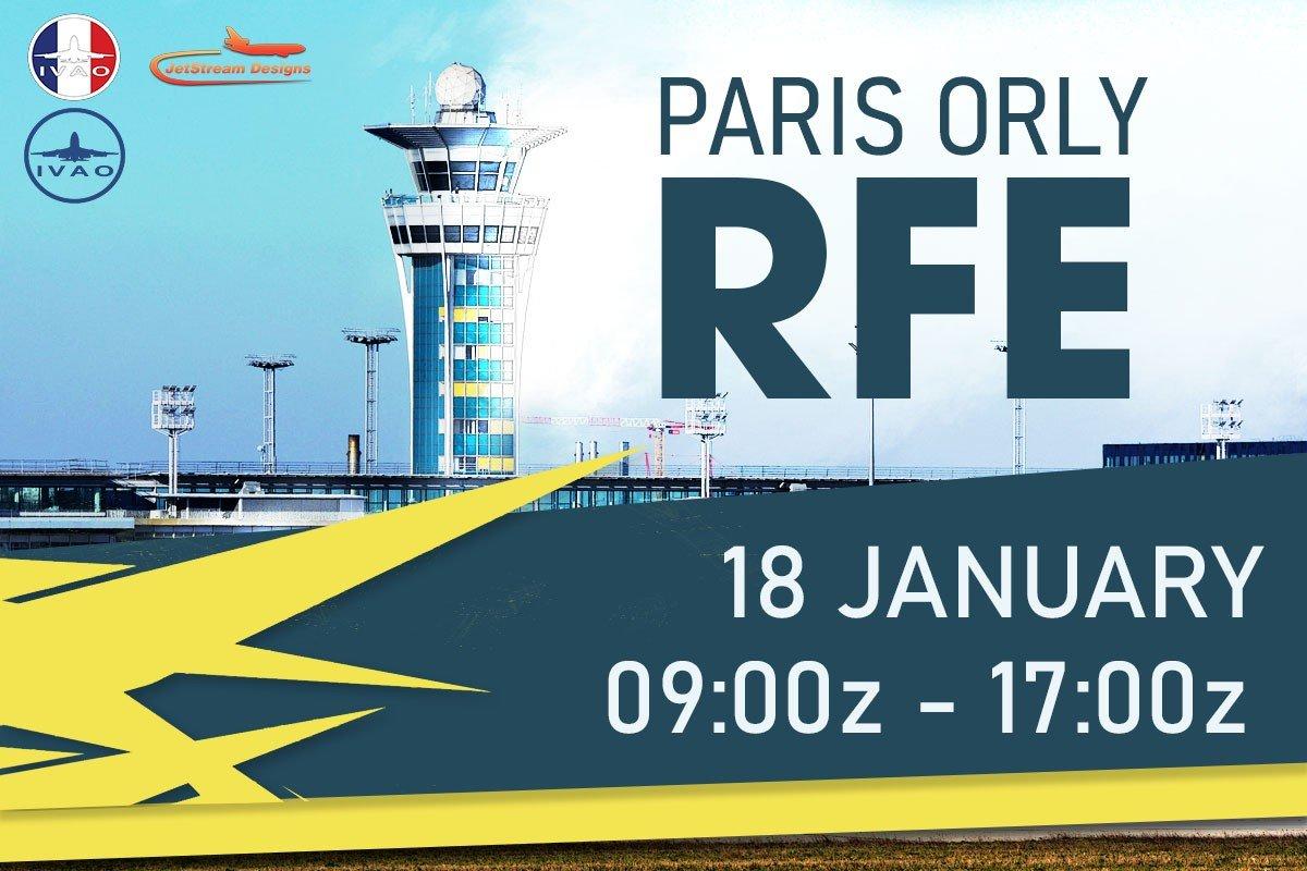 [FR+HQ] Paris Orly RFE