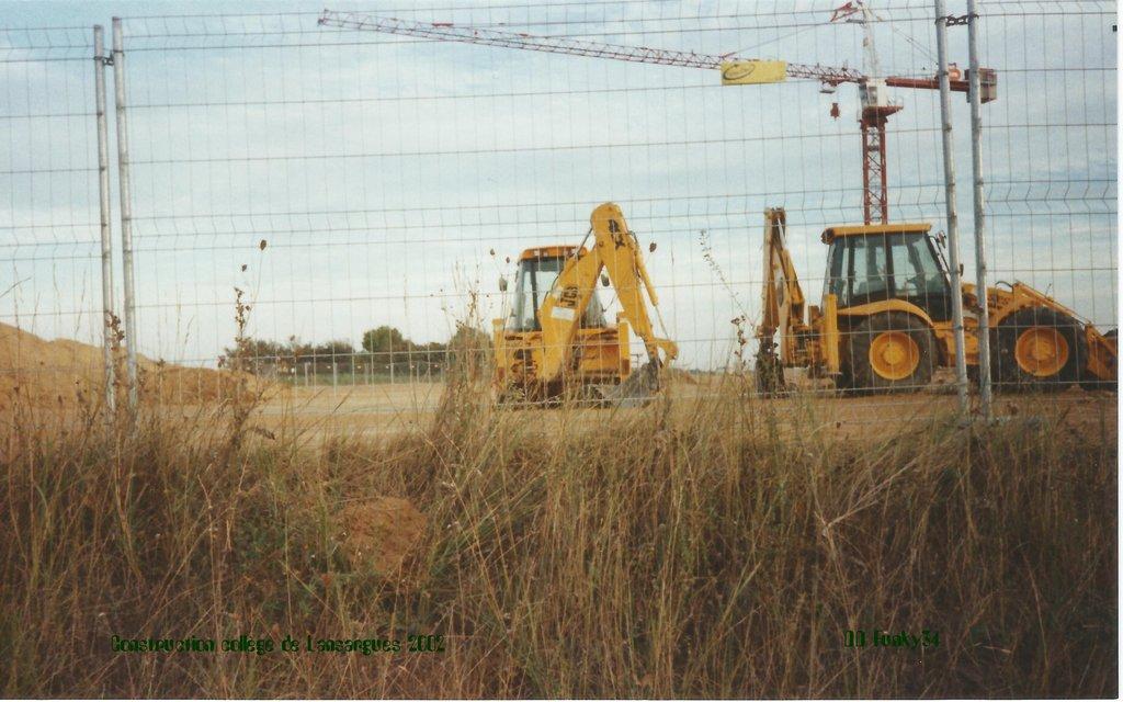 Construction collège de lansargues 2002