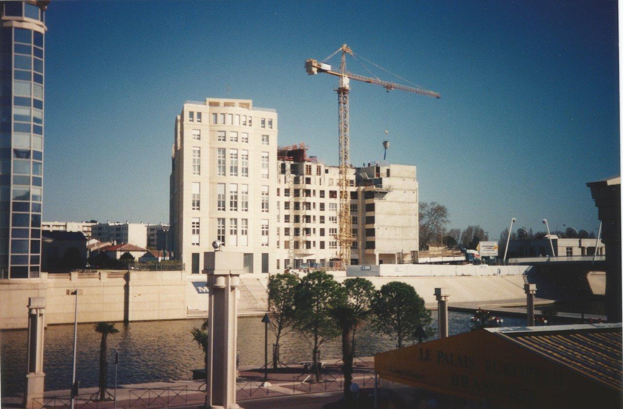 Construction immeuble Le Parnasse montpellier pompignane 04-199