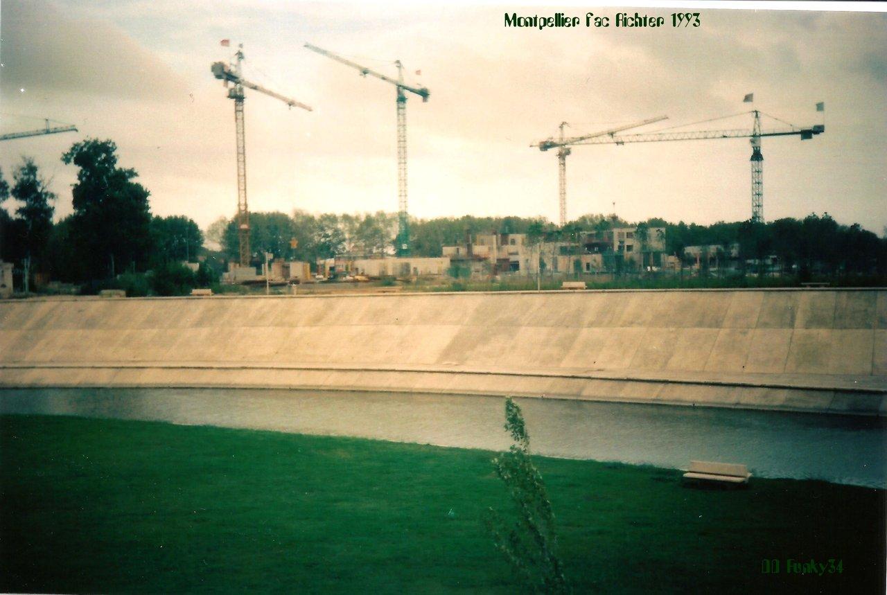 Montpellier Fac de Richter débuts 1993