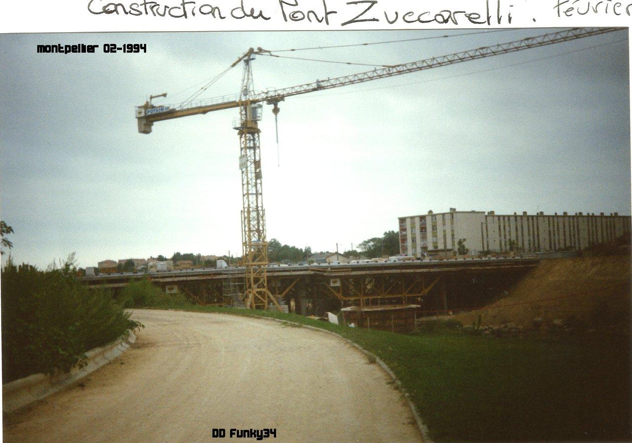 Construction pont Zuccarelli 1994