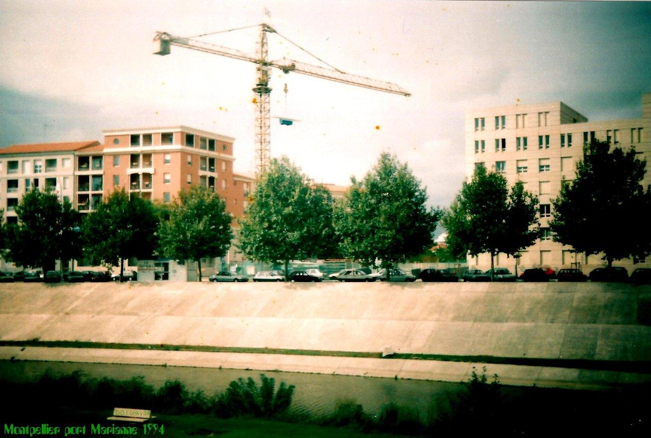 Montpellier Port marianne 1994 (2)