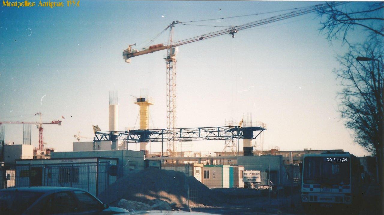 Montpellier Antigone piscine olympique 1996