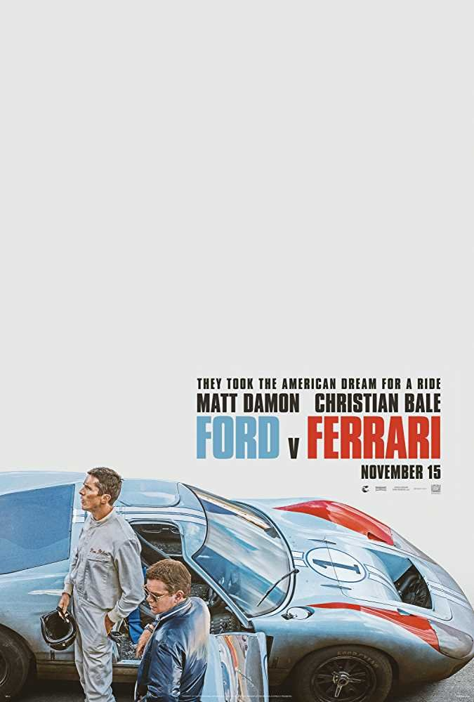 Ford v Ferrari (2019) poster image