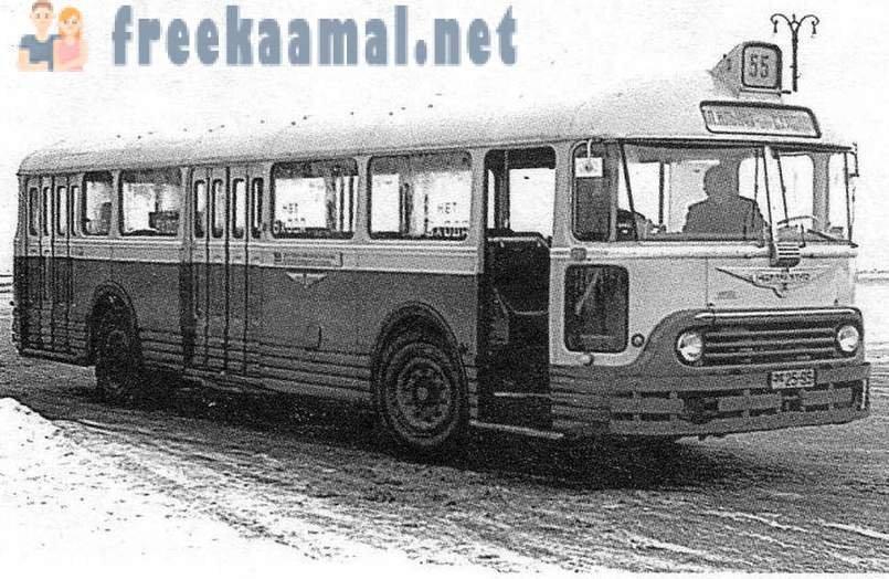 ?TU-BUS CHAUSSON APU-Chausson franc?ais en route pour Moscou, fin des anne?es 1950