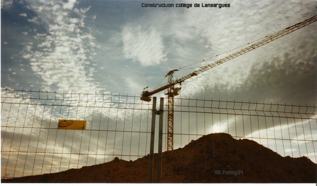 BPR construction Collège de Lansargues (34) en 2002