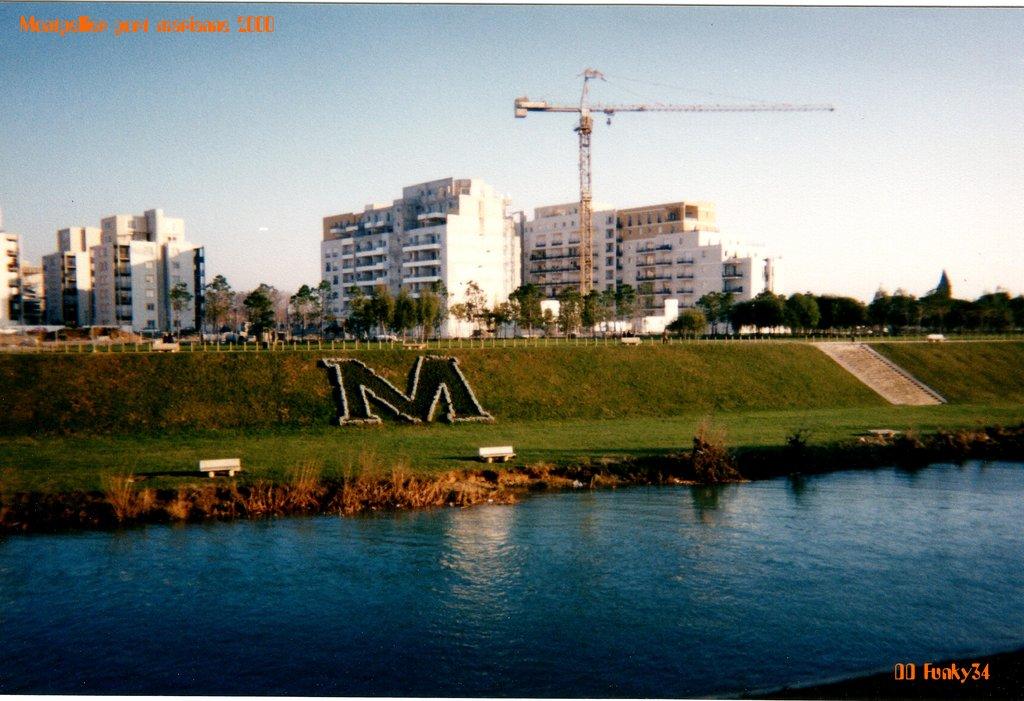 Potains chantier quartier Richter 2000
