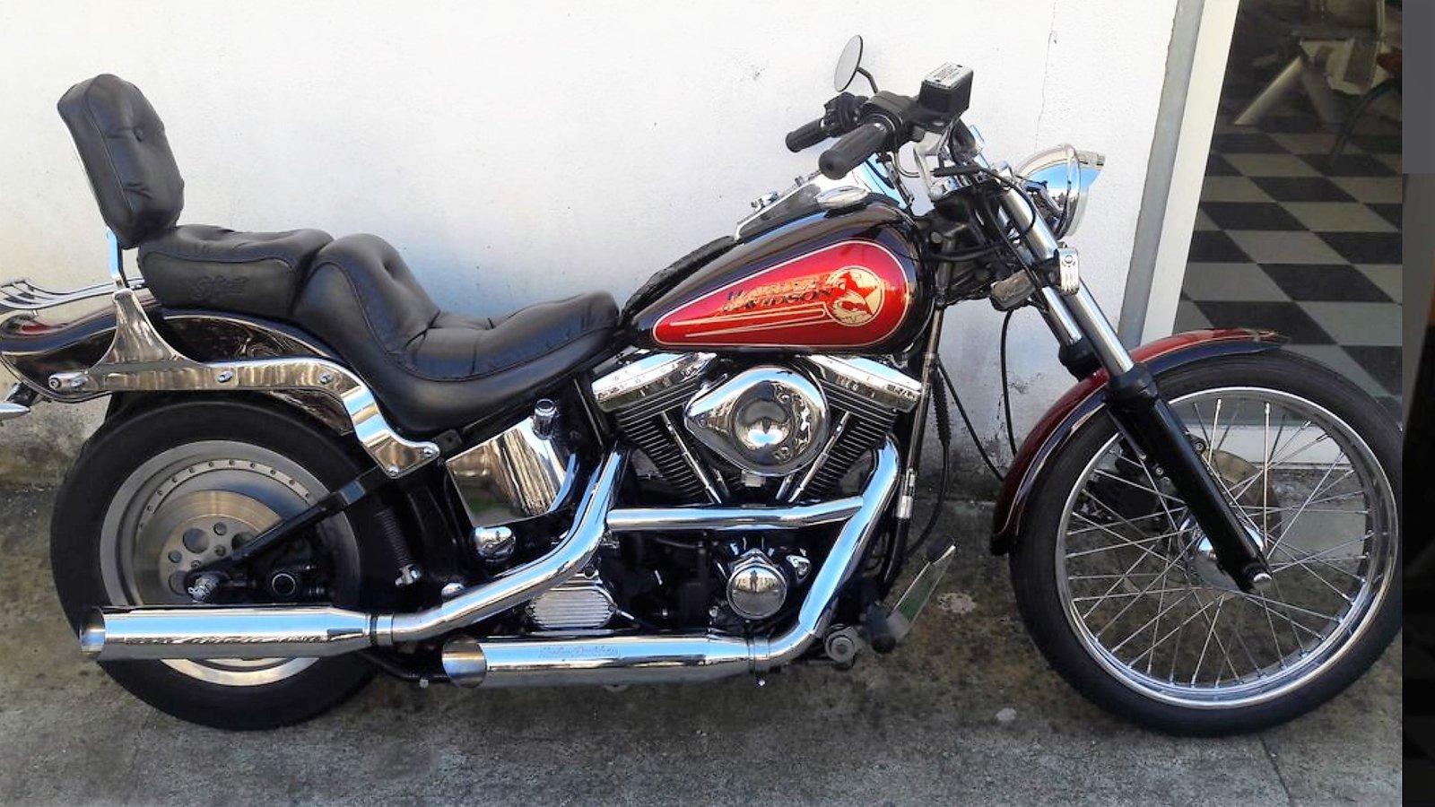Softail Custom (FXST) 1340 Evo de 92 200104093822593905