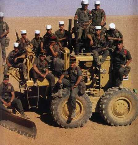 - photos légionnaires - Opération DAGUET en 1991 200106122803691963