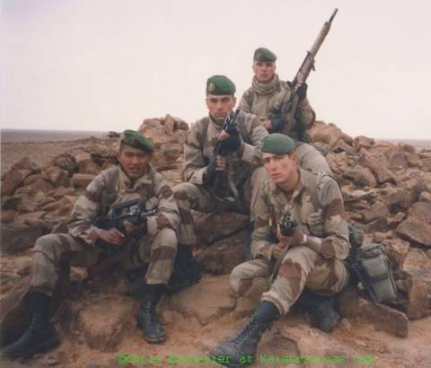 - photos légionnaires - Opération DAGUET en 1991 200106123547163624