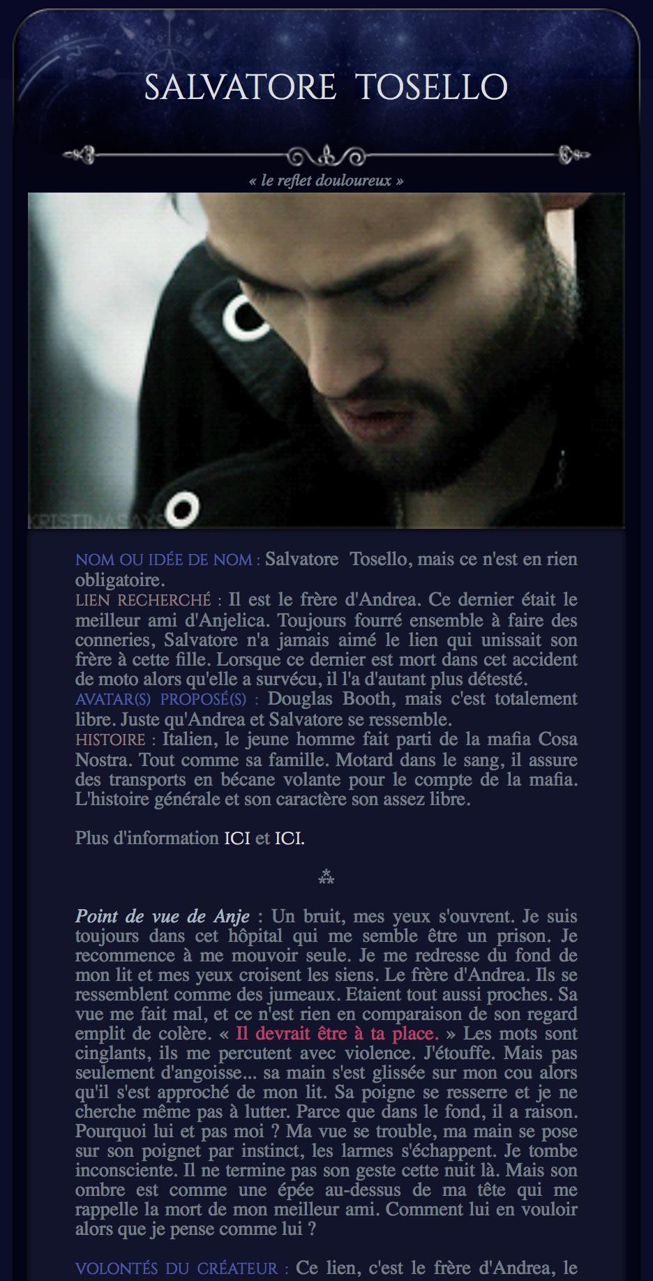 (H/F) HP ♚ Famille Zabini - Sorciers Mafieux & Cie 200107012800845341