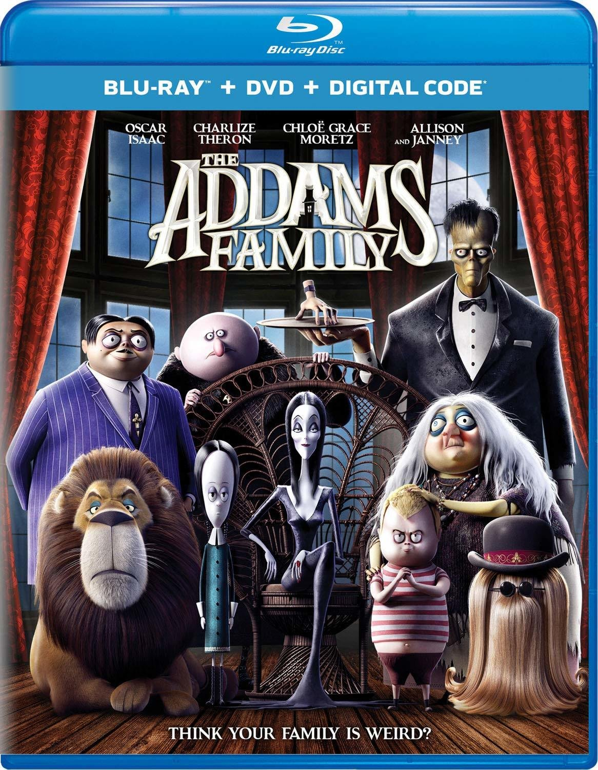 The Addams Family (2019) poster image