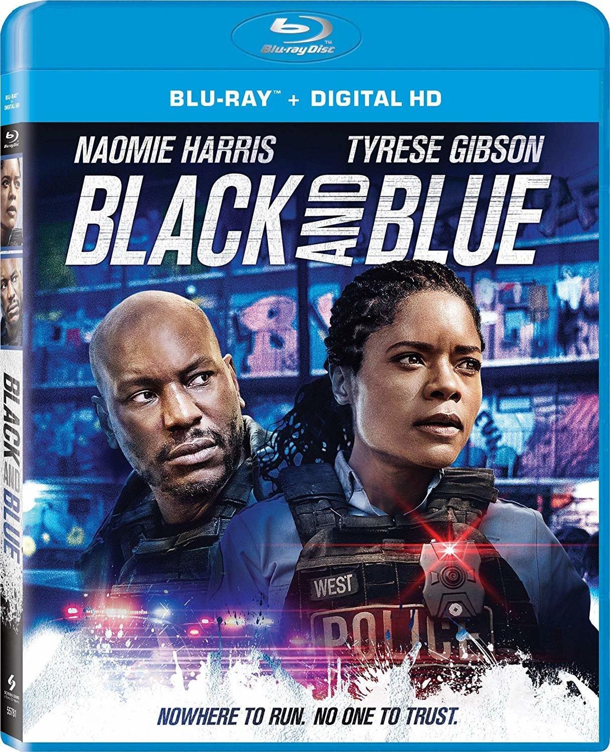 ผลการค้นหารูปภาพสำหรับ Black and Blue (2019) bluray
