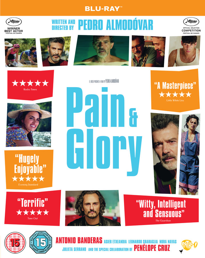 Dolor y gloria aka Pain and Glory poster image