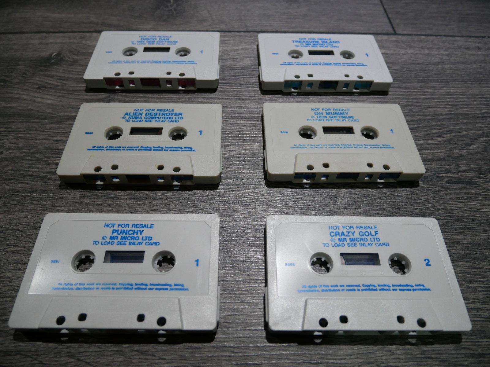 ESTIMATION Lot jeux K7 Spectrum 200110064541117376