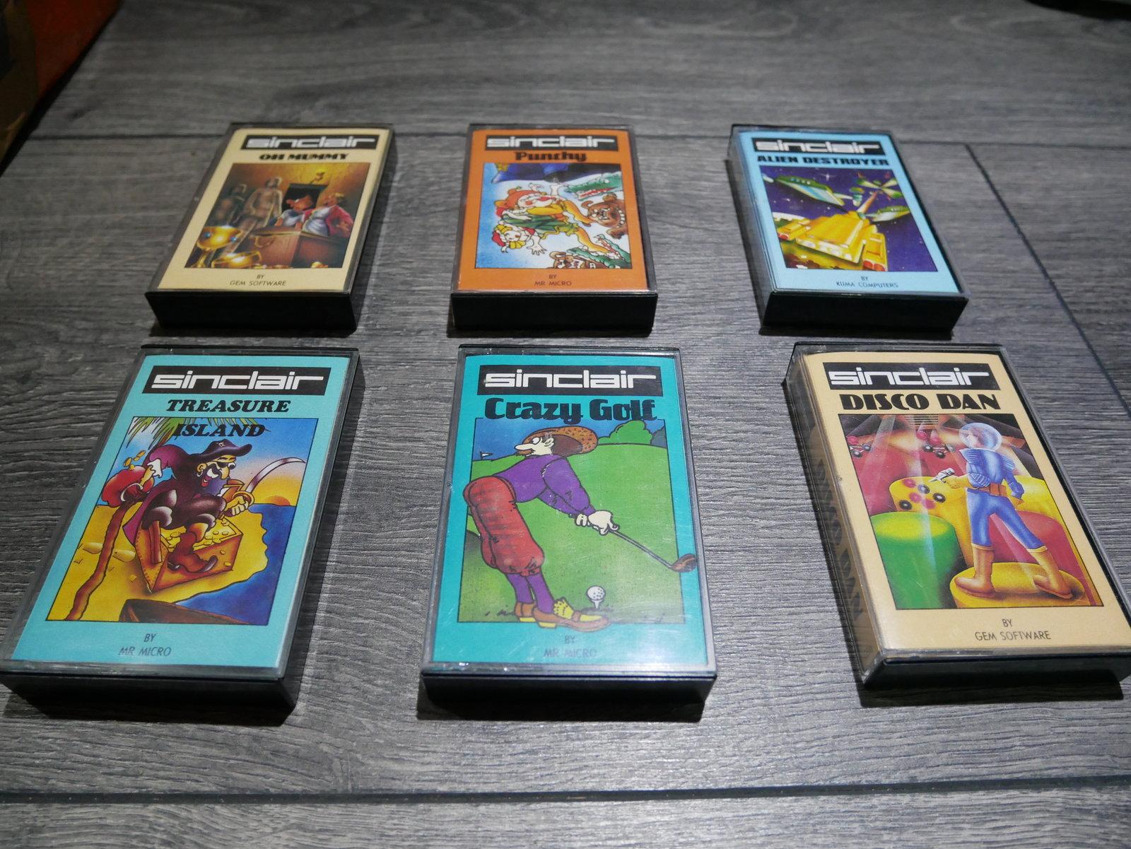 ESTIMATION Lot jeux K7 Spectrum 200110064541840321