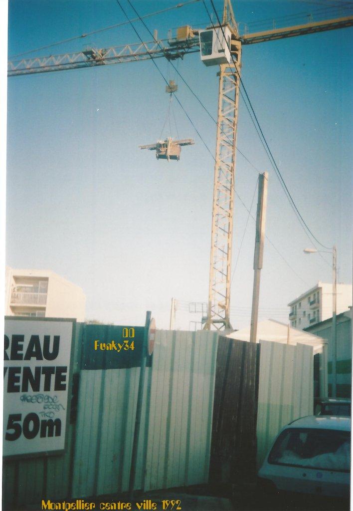 Montpellier centter ville 1992