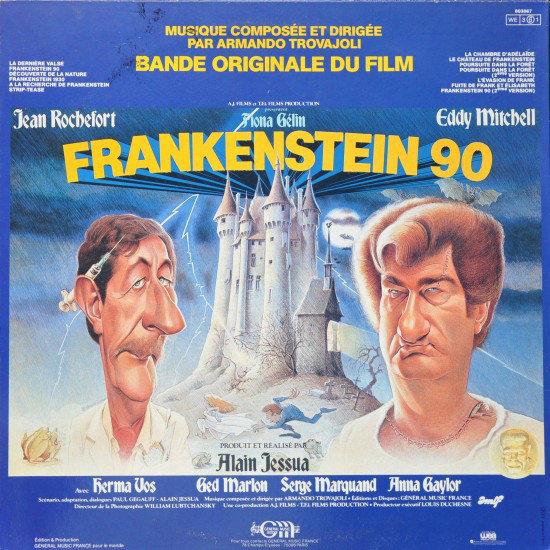Armando Trovaioli - BO du film Frankenstein 90 (1984 includinf GroPif)
