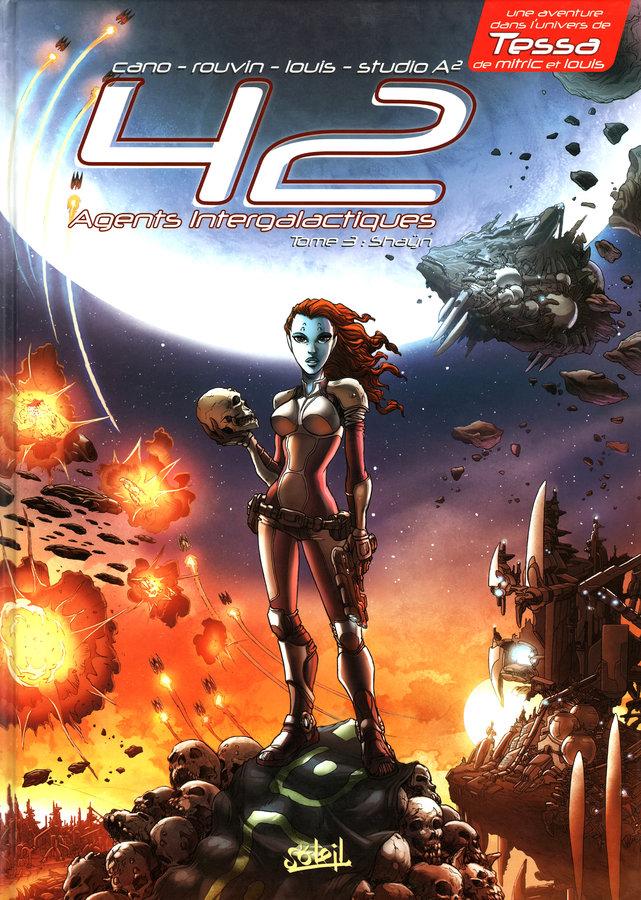 42 Agents Intergalactiques - Tome 3 : Shaÿn