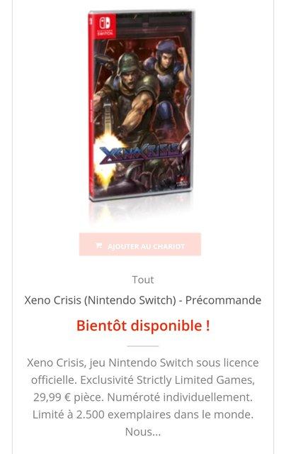 Xeno Crisis Mega Drive AES/MVS DC etc... - Page 17 200121081713160383