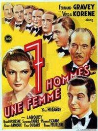 Sept hommes, une femme