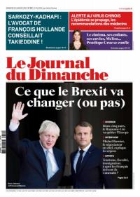 Le Journal du Dimanche  26 Janvier 2020