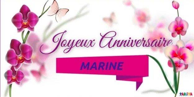 JOYEUX ANNIVERSAIRE MARINE 200130070714702561