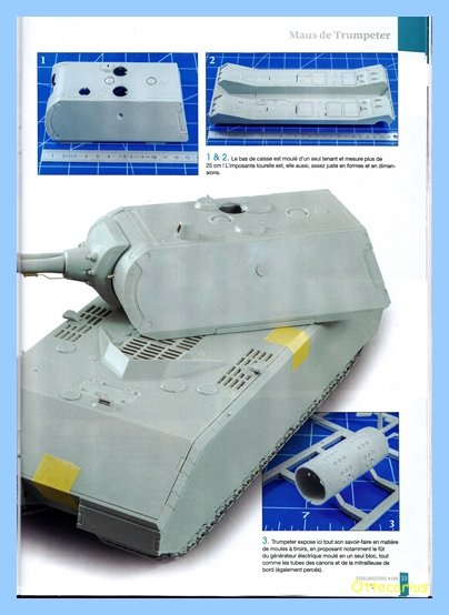 Panzer VIII MAUS type 205  CYBER HOBBY 1/35 ème - Page 7 200202012049788959