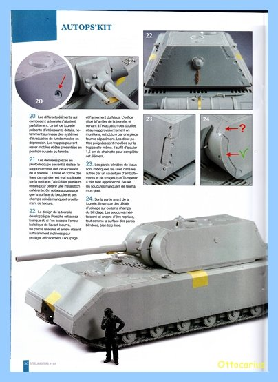 Panzer VIII MAUS type 205  CYBER HOBBY 1/35 ème - Page 7 200202012054221394