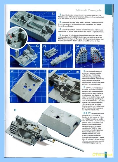 Panzer VIII MAUS type 205  CYBER HOBBY 1/35 ème - Page 7 200202012056562515