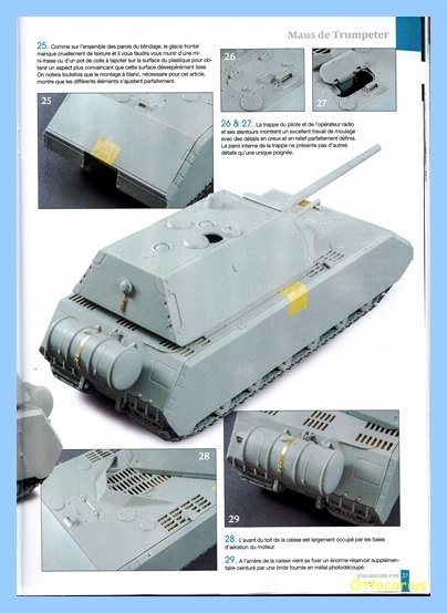 Panzer VIII MAUS type 205  CYBER HOBBY 1/35 ème - Page 7 200202012057125094