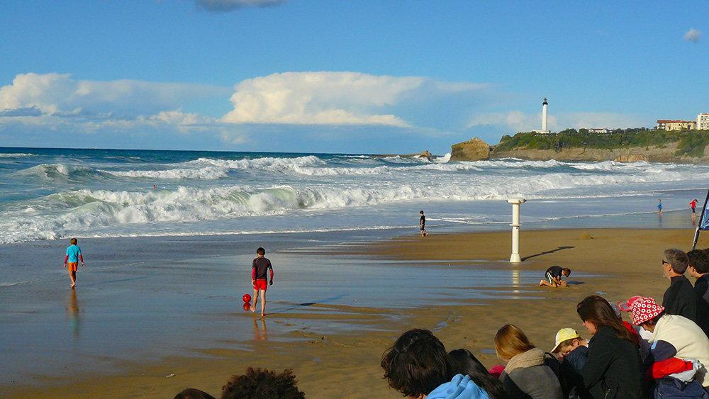 Biarritz - La Grande Plage en octobre 200204073437961000