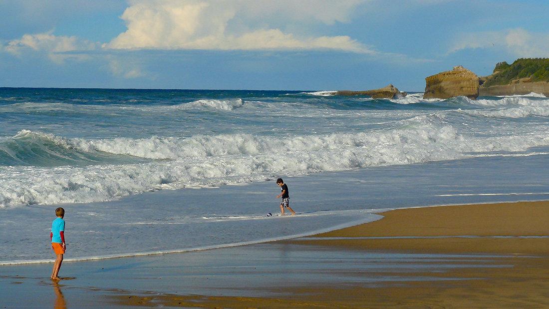 Biarritz - La Grande Plage en octobre 2002050559017949