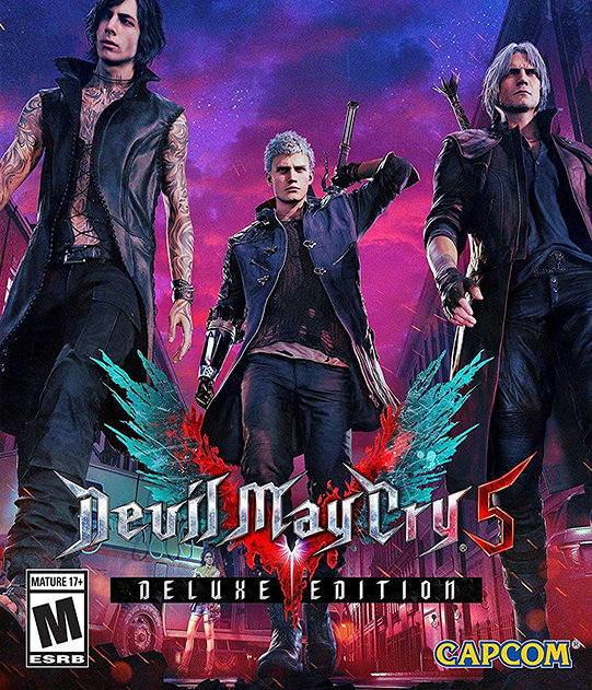 Poster for Devil May Cry 5