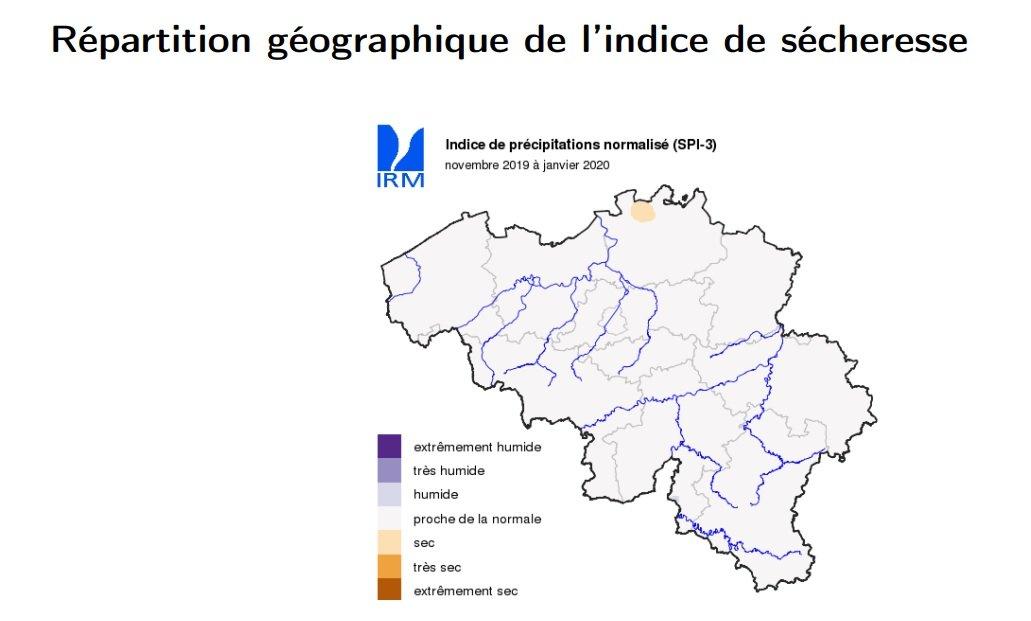 Indice de sécheresse
