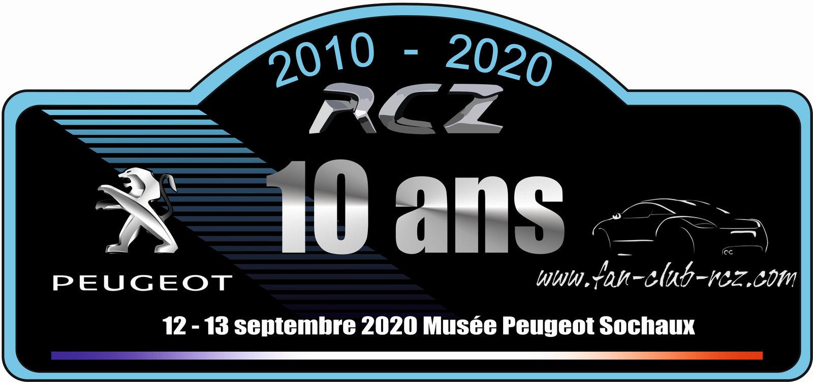 Sondage plaque 10 ans RCZ (CLOS) 200210033506164976