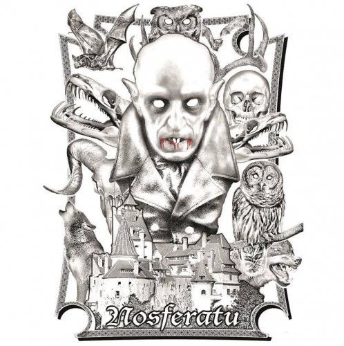 James Bernard et The City of Prague Philharmonic Orchestra  - BO du film Nosferatu (7'' silver vinyl Limited Edition 2016)