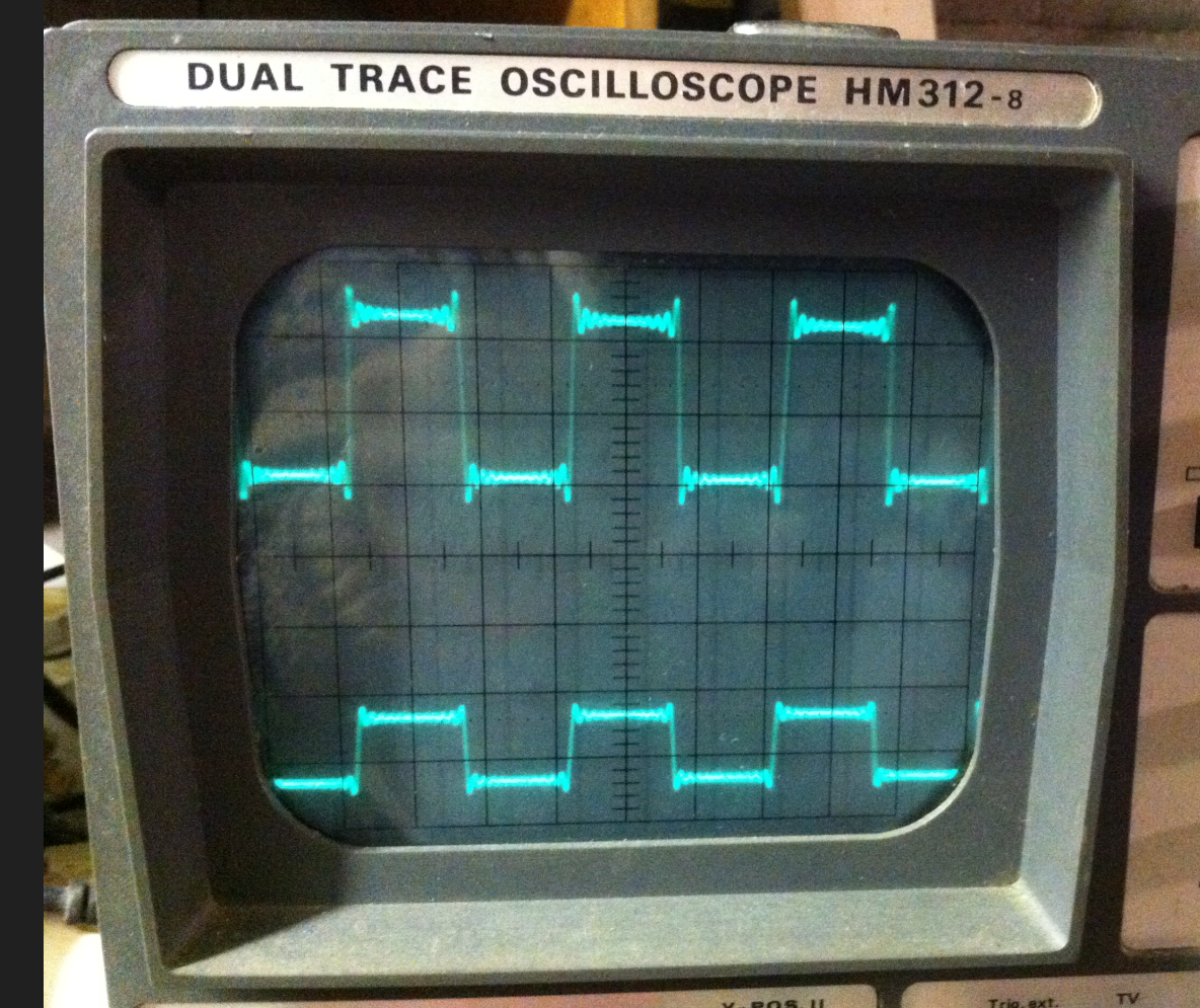signal carré 1 Khz