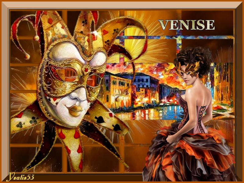 """Défi du mois de février sur le thème du """"Carnaval""""  20022010291565362"""