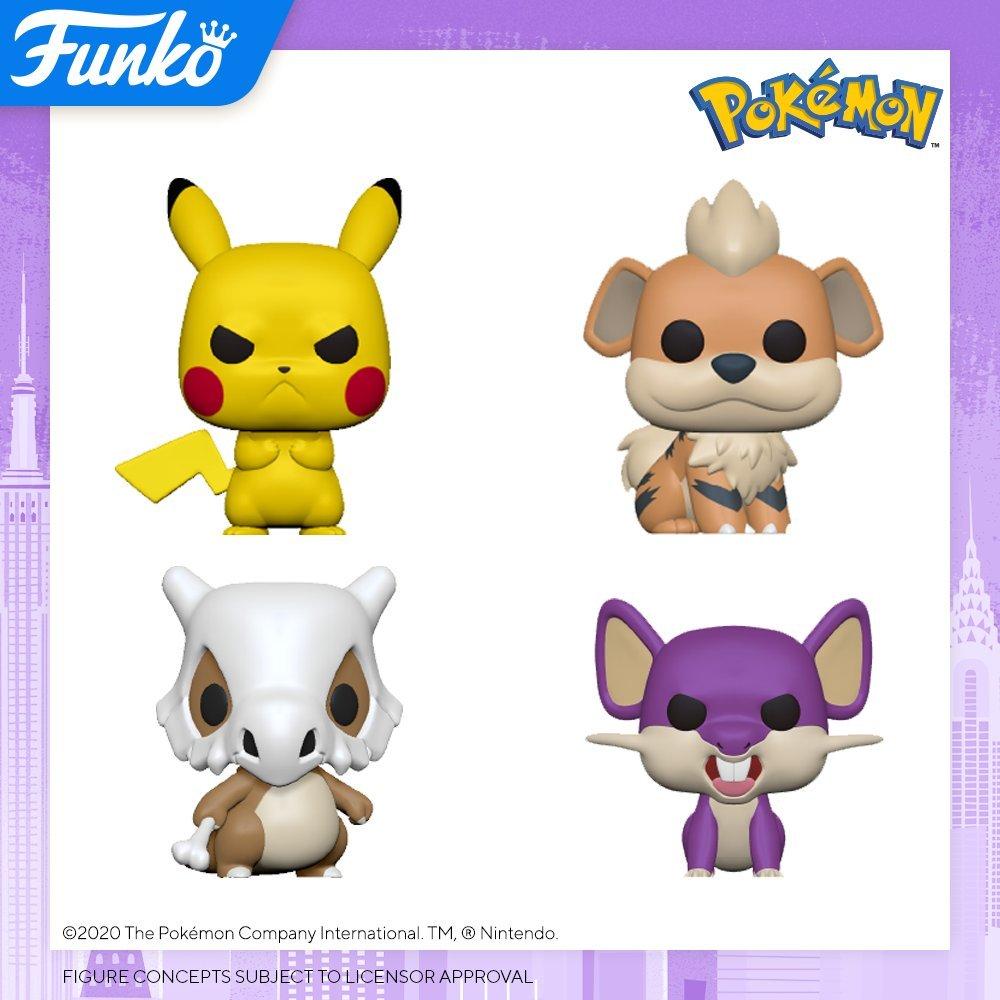 Funko Pop Devoile Une Nouvelle Vague De Figurines Pokemon Divers