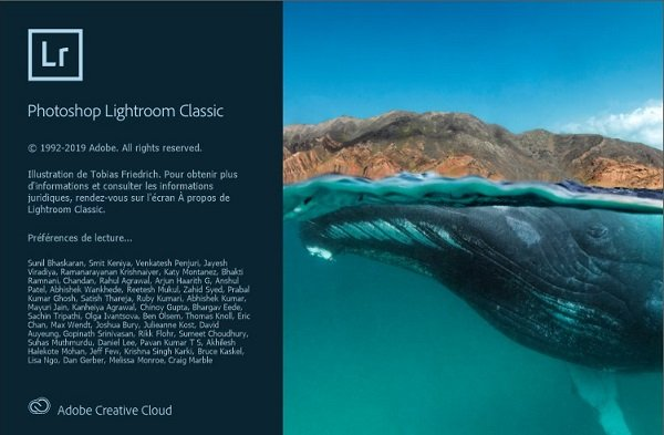 Lightroom Classic 2020 v9.2.0.10 Win64 Installable Activator Pré Cracké Français