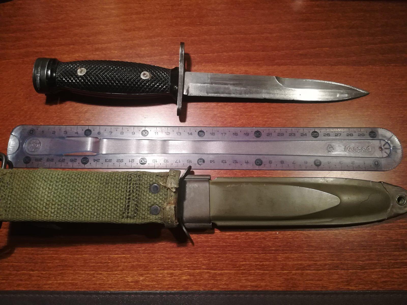Le poignard-baïonnette USM4 - Page 10 200223072707899441