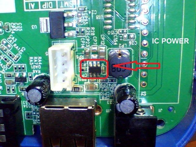 حل مشكلة الباور gn-rs8minihdplus