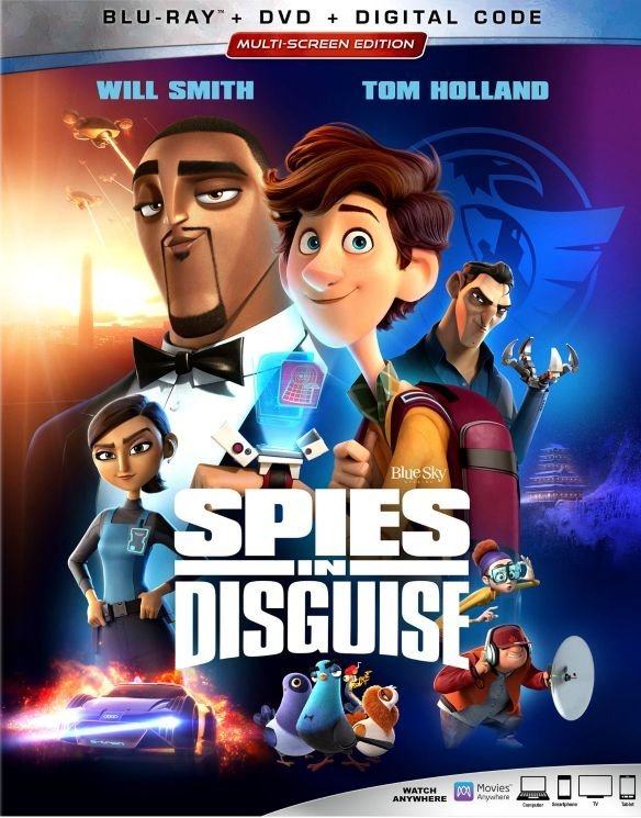 Spies in Disguise (2019) poster image